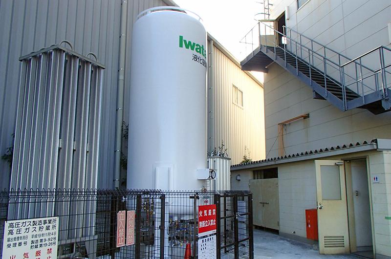 ナガオカ液化窒素貯槽
